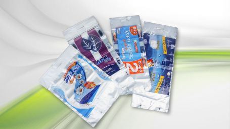 Βιομηχανία πλαστικών Χατζηκοσμάς | Σακούλες αυτόματης συσκευασίας