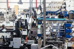 Plastic industry Chatzikosmas | Herstellungskapazität
